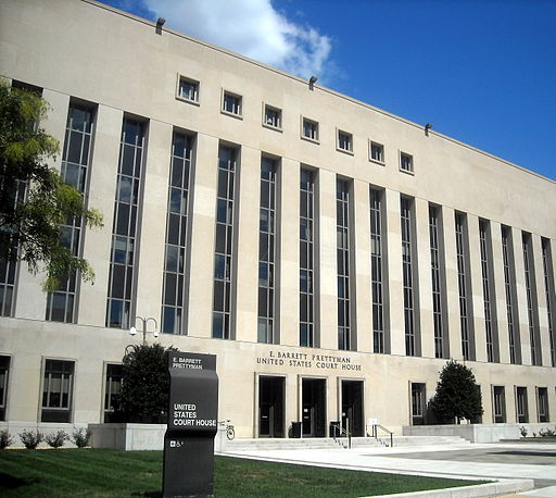 Image of the E. Barrett Prettyman Federal Courthouse in Washington, D.C.