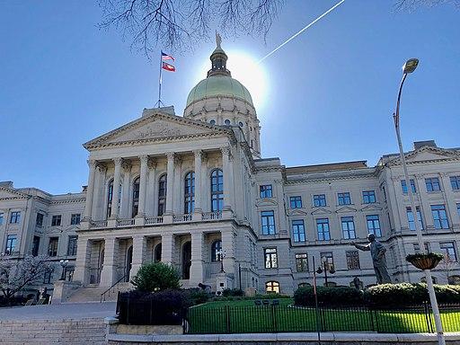 Image of the Georgia State Capitol in Atlanta, Georgia.