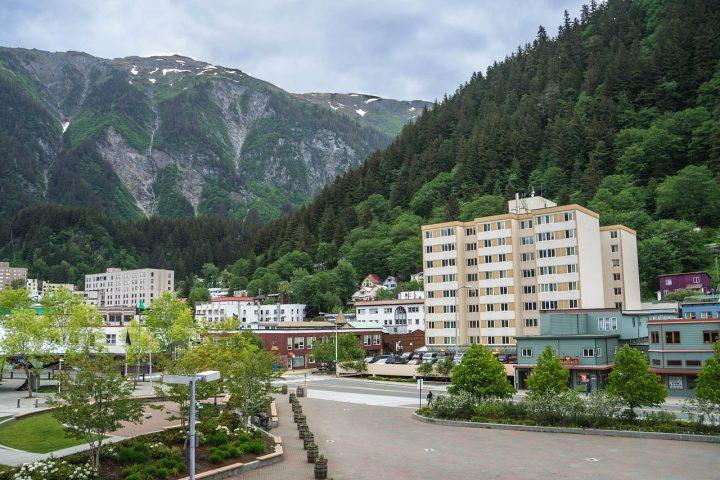 Photo of the city of Juneau, Alaska